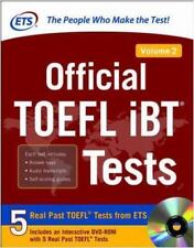 Official TOEFL IBT Tests 2 by Ets (2016, Mixed Media)