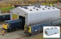 Gaugemaster GM406 OO Gauge Fordhampton Locomotive Depot Plastic Kit