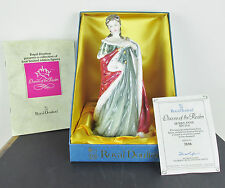 """ROYAL DOULTON FIGURE """"QUEEN ANNE"""" - HN 3141  WITH DOCS - QUEEN OF THE REALMS"""