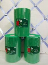 """3x Christmas Party Green Tulle 6"""" X 100 Yrds- Each Roll From Hobby Lobby New"""