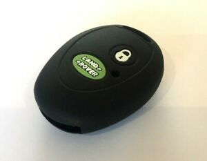 BLACK LAND ROVER DISCOVERY 2 SILICONE KEY FOB COVER
