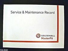 Vauxhall  Movano Van Service Book History Record Brand New Genuine No Stamps