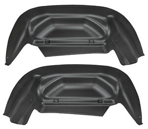 Husky Liners 79011 Rear Wheel Well Guards 2014-2017 Chevrolet Silverado 1500