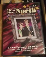 Mr. and Mrs. North Three Episodes DVD Thin Case