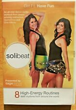 Solibeat 8 Motivational Cardio Dance Fitness Exercise Routines World Rhythms Dvd