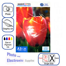 A3+ / A3 plus - Glossy RC (resin coated) Inkjet Photo Paper 260gsm (20 Sheets)