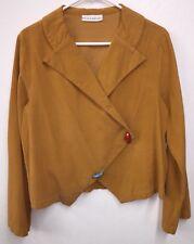 Bryn Walker Thin Corduroy Cord Boho Jacket Topper Small S Gypsy Chic