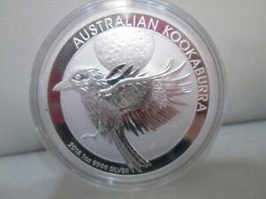 2018 Australian Kookaburra .999 Silver 1 Ounce Dollar Coin