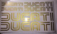 Ducati Decal Kit/ Gold