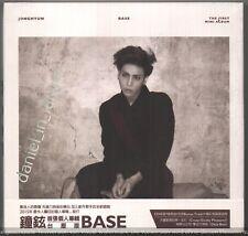 SHINee Jonghyun: Base - The first Mini Album  2015 TAIWAN CD & CARD WHITE COVER