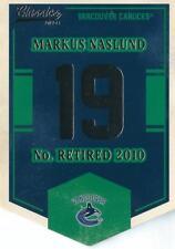 2012-13 Classics Signatures Banner Numbers #67 Markus Naslund