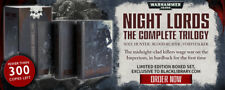 Night Lords - The complete trilogy box set: Super rare - Aaron Dembski Bowden