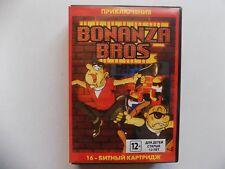 Bonanza Bros Sega Genesis Mega Drive.+