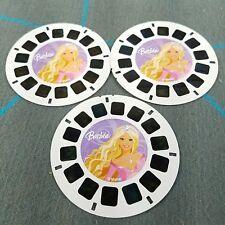 BARBIE Magic Of Pegasus Island Princess 3 Viewmaster Reels Mattel Fisher Price