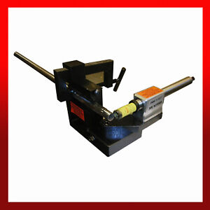 """WNS Tube Pipe Notcher 3/4"""" - 3"""" OD Capacity Round Square Stainless Steel Shaft"""