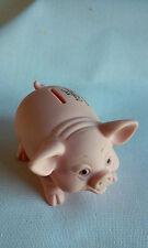 Vintage Advertising Piggy Bank Smiling Pig Chilton WI, USA Alliance Plastics