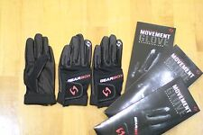 Gearbox Racquetball Glove. Movement. Black. Right Hand Extra Small Xs. 3 Gloves