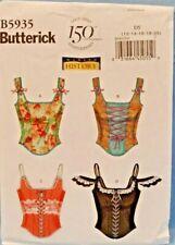 New ListingButterick Pattern 5935 Corsets Historical Costume Miss Sizes 12 14 16 18 20Uncut