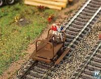 WALTHERS SCENEMASTER HO SCALE HANDCARS KIT (2) 949-4145