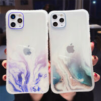 Gradient Marble Texture Glitter Soft Case For iPhone 11 Pro Max XR XS X 6S 7 8+