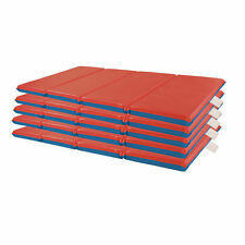 "(5 Pack) Preschool Rest Mats 2"" Thick 4-Fold - Daycare Rest Mats"