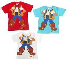 Disney Boys' Striped Crew Neck T-Shirts & Tops (2-16 Years)