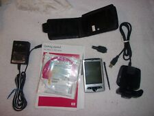 New listing Hp iPaq Pocket Pc rz1715 with Cords Charger Disk Case Works For parts or repair