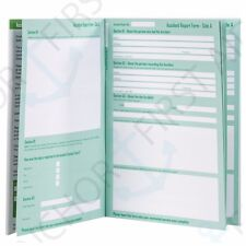 Accident Report Book HSE Compliant First Aid School Office Injury Record Journal