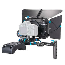 FOTGA DP500III PRO Matte Box+A/B Stop Follow Focus+Baseplate+Handle DSLR Rig Kit