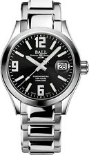 AUTHORIZED DEALER BALL Engineer III Pioneer Chronometer Black Dial 904L Steel