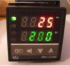 TERMOREGOLATORE DIGITALE DI TEMPERATURA 0 + 400° C REX-C100 USCITA RELE'
