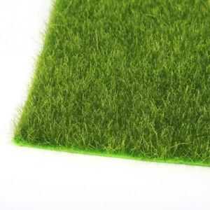 1X SYNTHETIC ARTIFICIAL GRASS MAT TURF LAWN GARDEN LANDSCAPE ORNAMENT DECOR