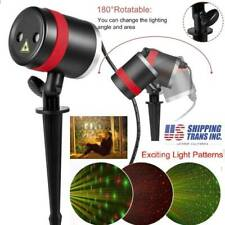Christmas Led Laser Projector Star Moving Light In/Outdoor Landscape Stage Hot