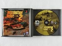 Destruction Derby 2 II PS1 Sony Playstation From Japan