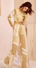 Adidas Danielle Cathari Track Suit Beige Set Jacket - S  Pants - Extra Small XS