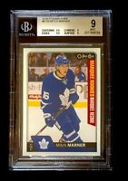 MITCH MARNER 2016-17 O-PEE-CHEE MARQUEE ROOKIES #671B BGS 9 MINT MAPLE LEAFS!!!!