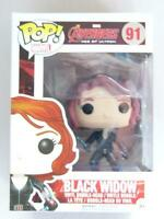 FUNKO POP VINYL | MARVEL AVENGERS | BLACK WIDOW 91 with FREE PROTECTOR