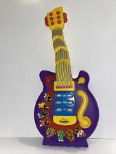 Spin Master The Wiggles Dancing Guitar Sounds Buttons Songs Vintage 2004 Purple