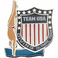 2012 London Olympics TEAM USA DIVING PIN badge - Mint in Package