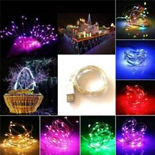 USB Plug In LED DIY Micro Copper Wire String Fairy Lights Xmas Party Light Decor