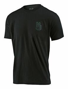 Troy Lee Designs 2020 Peace Out Tee Black TLD Men's T-Shirt Medium