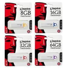 Kingston DataTraveler G4 USB 3.0 Flash Memory Sticks 8GB 16GB 32GB 64GB