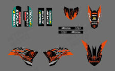 MOTORCYCLE GP GRAPHICS KIT DECALS STICKER FOR KTM 50SX 2009 2010 2011 2012 2013