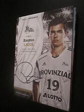 48548 Rasmus Lauge THW Kiel Original signierte Autogrammkarte Handball