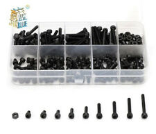 300pcs/set Black Din912 M2 Allen Bolt Hex Socket Round Cap Head Screw And Nut As
