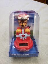 NEW in the box Christmas Chase Paw Patrol Solar Bobble-Head Bobbler Free Ship