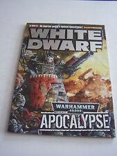 White dwarf magazine games workshop, games and figurines no. 162. tres bon etat.
