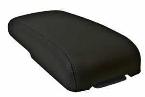 Center Console Lid Armrest Cover Leather for Chevrolet Colorado 1995-2005 Black