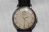 LeCoultre Cal. 481 power indicator watch and original box, bumper movement