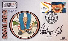 Mostrar sello de 2000-Benham Pequeño Seda-firmado por Graham Cole